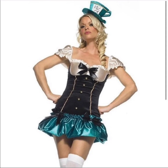 Alive in Wonderland Mad Hatter Costume